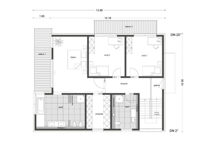architektenhaus mit pultdach jetzthaus das massivhaus. Black Bedroom Furniture Sets. Home Design Ideas